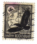 Stamps : Europe : Germany :  Águila