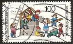 Stamps Germany -  1267 - Participación de los niños