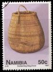 Stamps Oceania - New Hebrides -  cesta con asa