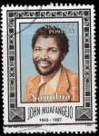 Stamps Africa - Namibia -  john Maufengejo