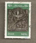 Sellos de Asia - Nepal -  Trivikrama