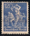 Stamps Germany -  MINEROS.