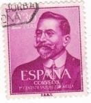 Stamps Spain -  I Centenario del nacimiento de Juan Vazquez de Mella 1861-1928    (W)