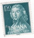 Sellos de Europa - España -  II centenario del nacimiento de Leandro Fernández de Moratín   (W)