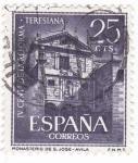 Stamps Spain -  Iv centenario reforma Teresiana (w)
