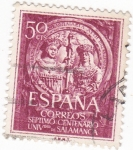 Stamps : Europe : Spain :  Septimo Centenario Universidad de Salamanca    (W)