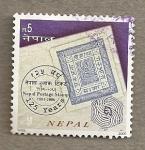 Stamps Asia - Nepal -  Conmemoración Sellos