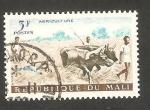 Stamps : Africa : Mali :  19 - Trabajando en el campo