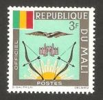 Stamps : Africa : Mali :  14 - Escudo de armas