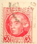 Stamps : Europe : Spain :  GASPAR MELCHOR DE JOVELLANOS