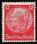 Sellos de Europa - Alemania -  85 Aniversario del Pres. Paul von Hindenburg