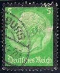 Sellos de Europa - Alemania -  Edición en la memoria del Pres. Paul von Hindenburg
