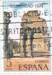Sellos de Europa - España -  Ruinas de San Ignacio de Mini-HISPANIDAD -1974  (W)