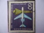 Stamps Germany -  Exposición Internacional de transporte en Munich-Boeig 720