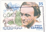 Stamps Spain -  Félix Rodriguez de la Fuente    (W)