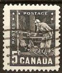 Stamps Canada -  Industria Minera.