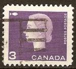 Sellos del Mundo : America : Canadá : La reina Isabel II (Símbolo de pesca ).
