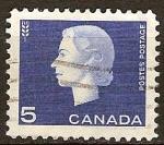 Sellos del Mundo : America : Canadá : La reina Isabel II (símbolo la agricultura de trigo.).