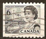 Sellos del Mundo : America : Canadá : La Reina Isabel II y los transportes especiales.