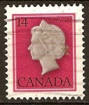 Sellos de America - Canadá -  La Reina Isabel II.