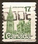 Sellos del Mundo : America : Canadá : Parlamento.