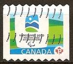 Sellos del Mundo : America : Canadá : Vancouver 2010-Emblema Paralímpicos.