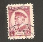 Sellos de Europa - Checoslovaquia -  293 - 85 anivº del presidente Masaryk