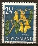 Sellos del Mundo : Oceania : Nueva_Zelanda : Kowhai.
