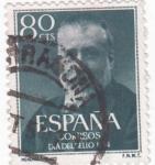 Sellos de Europa - España -  MARCELINO MENÉNDEZ (W)