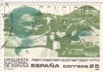 Stamps Spain -  ORQUESTA NACIONAL DE ESPAÑA   (w)