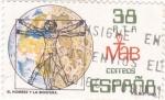 Sellos de Europa - España -  EL HOMBRE Y LA BIÓSFERA    (W)