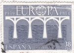 Stamps Spain -  EUROPA CEPT       (W)