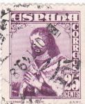 Sellos de Europa - España -  Fernando III el Santo      (W)