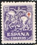 Stamps Spain -  ESPAÑA CORREOS1945-46