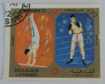Sellos de Asia - Emiratos Árabes Unidos -  Sharjah & Dependencies; Olimpiadas Múnic 1972, gimnast