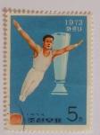 Sellos del Mundo : Asia : Corea_del_norte : 1973, Corea del Norte, gimnasta