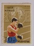 Sellos del Mundo : Asia : Corea_del_norte : Corea del Norte, 1973, boxeo