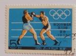 Sellos de Asia - Corea del norte -  Olimpiadas de Múnic, 1972, Boxeo. Corea del norte