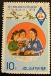 Sellos del Mundo : Asia : Corea_del_norte : Olimpiadas Montreal 1976, campeonas tenis mesa. Corea del norte