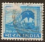 Sellos del Mundo : Asia : India : Locomotora eléctrica.