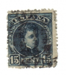 Stamps Spain -  Alfonso XIII. Cadete