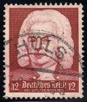 Sellos de Europa - Alemania -  Celebración de Schutz-Bach-Handel.