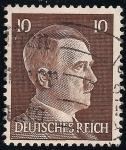 Sellos del Mundo : Europa : Alemania :  Adolf Hitler.