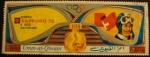 Sellos de Asia - Emiratos Árabes Unidos -  Umm-al-Qiwain. Olimpiadas Sapporo 1972. Downhill. B. Russi