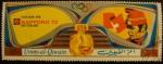 Sellos del Mundo : Asia : Emiratos_Árabes_Unidos : Umm-al-Qiwain. Olimpiadas Sapporo 1972. Four man Bob