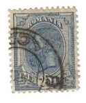 Stamps Romania -   Rey Carol I