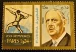 Sellos de Asia - Emiratos Árabes Unidos -  Fujeira. Olimpiadas Paris 1924