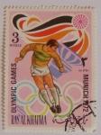 Sellos del Mundo : Asia : Emiratos_Árabes_Unidos : Ras al Khaima. Olimpiadas Múnic 1972 fútbol