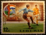 Stamps Africa - Sierra Leone -  Liberia. Copa del mundo de futbol 1974 Múnic