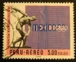 Sellos del Mundo : America : Perú : Olimpiadas Mexico 1968